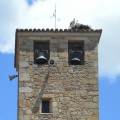 bells & storks in Extremadure´church