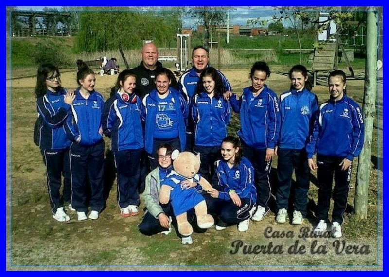 Equipo voley ball 2013