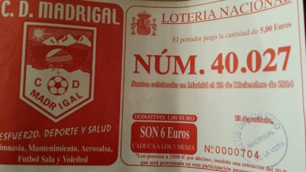 cd madrigal loteria