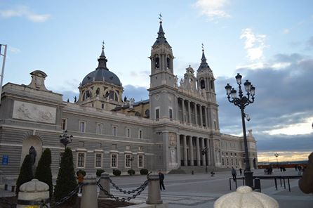 catedral de la Almudena, Madrid, Spain.