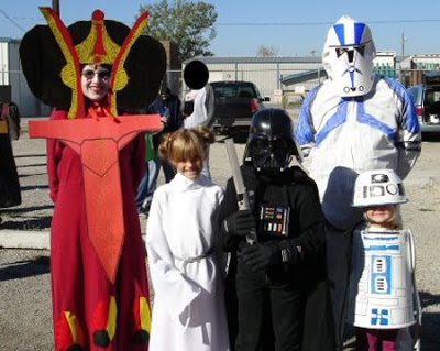 star_wars_family Disfraces